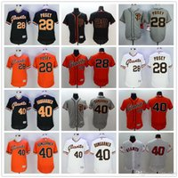Baseball best buster - Cheap Best Quality San Francisco Giants Flexbase Buster Posey Baseball Jerseys Elite Madison Bumgarner Jersey