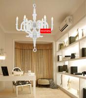 Wholesale Dia CM CM CM Best Price Modern White Black Lovely Chandelier Pendant Lamps Nice Hanging Lamp For Bedroom Living room