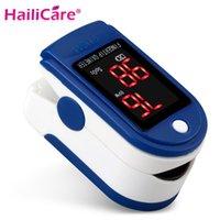 Wholesale Health Care pulse oximeter Monitors Digital finger Oximetro LCD Pulse Oximeter de dedo digital Blood Pulsioximetro Saturation