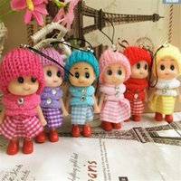 Wholesale Mini Plush Toy Kids Toys Dolls Soft Interactive Baby Dolls Toy Mini Doll for Girls Wedding Favors DHL Free