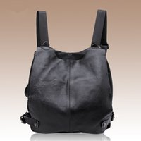 backpack travel europe - Cowhide Leather Backpack Campus Travel Shoulders Bag Europe and American New Tide Fashion Shoulder Bag Women Lady Girl College Students Bags
