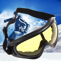 Wholesale New Snowboard Dustproof Sunglasses Motorcycle Ski Goggles Lens Frame Glasses Paintball Outdoor Sports Windproof Eyewear Glasses