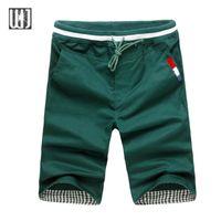 Wholesale Summer Style Shorts Men Casual Brand Clothing Drawstring Shorts Homme Types Fashion Cotton Ball Shorts Leisure Short