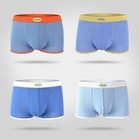 Wholesale Sport Boxer Briefs for Men New Fashion Mid Waist Underwear Sexy Brand for NEWBODY New Fashion