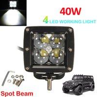 Cheap 30 Degree led tractor work lights Best 4000LM as the description work light 12v