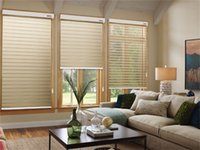 Wholesale colorful home decoration and sun shading customized measurements of ready made triple shade polyester shangri la blinds