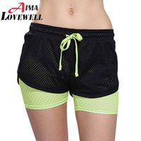 Wholesale Womens Running Shorts In Running Tights Short Women s Gym Cool Woman Sport Short Fitness Running Shorts