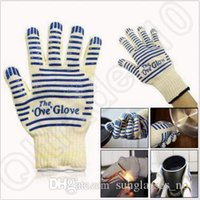 Wholesale High Quality the Ove Glove Microwave Oven Glove F Heat Proof Resistant Cooking Heat Proof Oven Mitt Gloves CCA5405