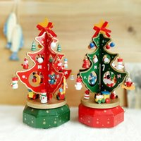 Wholesale 2017 New Arrival Christmas Gift Xmas Tree Decoration with Music Party Decoration