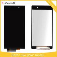 assure digitizer - Original LCD Touch Screen Digitizer for Sony Xperia Z1 L39H C6902 LCD Screen Repair Quality Assured Black