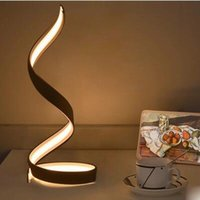 Wholesale 2017 bedroom bedside lamp acrylic lamp simple modern study LED creative personality art lighting export North Europe
