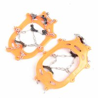 Wholesale Brand Teeth Winter Snow Ice Crampons Boot Shoe Covers Spike Cleats Ice Gripper For Climbing Spike Grip Boots Ice Snow Shoes