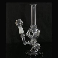 aliens models - Glass bongs inch aliens model glass inline bubbler water smoking pipe Oil Rig Wax mm Joint Size Hookahs