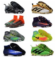 Wholesale CR7 Mercurial x EA SPORTS Superfly FG Mens Football Boots Kids ACE PureControl Soccer Shoes Magista Obra Women Youth Soccer Cleats