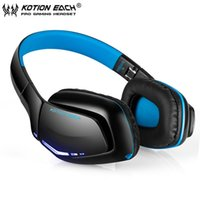 best cell phone for music - KOTION EACH B3506 Wireless Bluetooth Headphone Foldable Best Stereo Headset with Mic for iPhone Phone Handfree Call Music