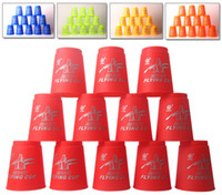 baby related - set Baby Child Magic Flying cup Speed Flying Stack Pack Sport sport Stacking Game Prop Educational Toys Ability