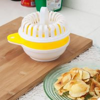 ECO Friendly apple snacks - New Arrival Microwave Apple Fruit Potato Crisp Chip Slicer Snack Maker DIY Set High Quality CT0123