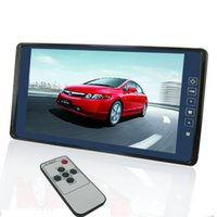 Wholesale New quot TFT LCD Color Touch Screen Car Sunvisor Monitor Rear View System for auto