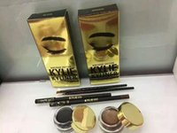 affordable brush sets - 2016 explosion models Kylie eyeliner brush eyeliner cream three piece affordable easy to makeup simple set