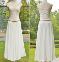 Wholesale Elegan fashion women Long white dresses Vintage flower embroidery lady party wedding casual chiffon dresses summer lady clothing