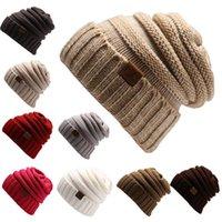 2017 Nuevo sombrero unisex de la gorrita tejida de la gorrita tejida del tamaño del sombrero del algodón de la manera del trébol
