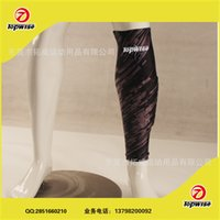 Wholesale Custom character pattern LOGO extended cellular anti collision sublimation basketball soccer Leggings with knee