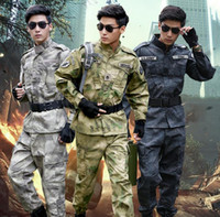 Men army field uniform - Original designer camouflage pants men uniform multi pocket army fans trousers man field wear british style