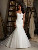 Wholesale Sexy Wedding Dress Vestidos De Novias Simple White Mermaid Wedding Dresses Cheap Wedding Dress Made in China