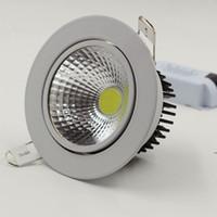 Wholesale Epistar LED Downlights LM W W W w w w w w w V LED Ceiling Lights Spotlights with Warm White Cold White