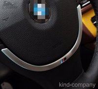 Wholesale 1pcs M M ABS car AUTO Steering wheel decoration ring sticker For BMW series year car