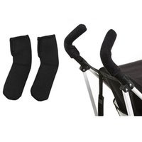 Wholesale 2 Neoprene Baby Stroller Grip Cover Carriages Poussette Handle Protector Cover Stroller Accessories