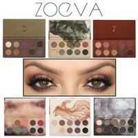 belle wear - New Arrive ZOEVA Color Eyeshadow Palette MIXED METALS COCOA BLEND ROSE GOLDEN NATURALLY YOURS RODEO BELLE SMOKY Naked Eye shadow
