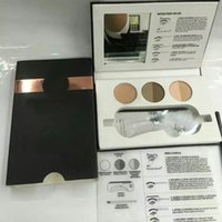 1 Stencils Yes Hot Beauty Express Eyebrow set Brow Gel +Eyebrow cream & Eyebrow card & Eyebrow brush & Highlighting brow Free shipping with gift