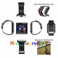 DZ09 Smart Watch Apple iWatch Bluetooth U8 GT08 SmartWatch Wrisbrand Avec carte SIM pour iPhone Samsung IOS Android Téléphone portable Bracelet intelligent