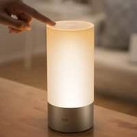 Wholesale Original Xiaomi Yeelight Bedroom Night Lights Bedside Lamp Million RGB Touch Control and Smart Phone App Controller Bed Lamp