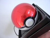 Wholesale New Mobile game Cosplay Poke mon Go Pokeball Mah LED Quick phone Charge Power Bank figure Charger have a box toy gift