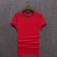 Wholesale Popular Men T Shirts Round Neck Long Sleeve t shirts Fashion Hip Hop Tees Logo Printed Top Quality