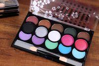 ancient earth - Han Yan color eye shadow Smoked the earth color restoring ancient ways makeup cosmetics box cosmetics DHL