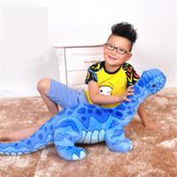 Wholesale Fancytrader Big Cute Jurassic Park Brachiosaurus Stuffed Doll Giant Soft Dinosaur Plush Toy cm X cm Kids Play Gift
