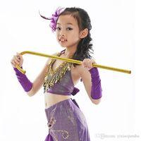 Wholesale 2017 New Adults Children Jazz Dance Crutches Belly Dance Walking Stick Cane Performances Props