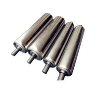 belt conveyor rollers - 1 Roller Expansion Cylinder Bearing Platen Rotary Drum Rattler Parts of Belt Conveyor Transmission Line Production Line