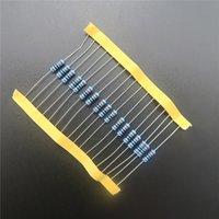 Anillo del color del resistor de la película de metal de 50pcs RoHS 0.5W 1 / 2W 0.39 ohm +/- 1% diy 2016 DIY KIT PARTE resistencia resistencia del paquete