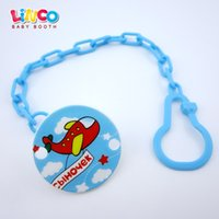 baby russia - Russia Blue New Baby Clips Funny Nipple Teethers Pacifier Accessoriestoy Pacifier Holder Chain Drop resistant Belt
