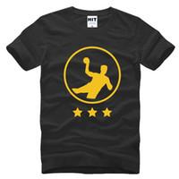add tee shirt - 2017 new fashion Handball add star Creative Printed Men s T Shirt T Shirt For Men Short Sleeve O Neck Cotton Top Tee