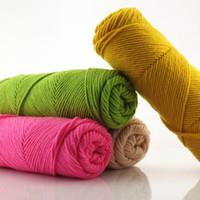 Wholesale Clothing Fabric Super Soft Acrylic Knitting Wool Blend Scarf Yarn G ply mm