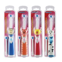 Cheap Kids electric toothbrush Children Electric massage Ultrasonic Toothbrush teeth Care kids Oral Hygiene Dental Care Free Shipping ZA2404
