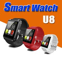 Wholesale Bluetooth U8 Smartwatch Wrist Smart Watch For iPhone Plus S S Samsung S7 S6 Edge Note HTC LG Android Smartphones With Retail Box