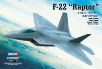 best fighter aircraft - high quality hobby scale Static aircraft US F quot Raptor quot fighter toy model kit best gift
