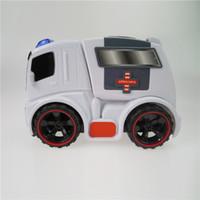 ambulance lights - Ambulance Rescue Car Models for Kids Sound Light Hospital Diecast Model Cars for Children Model Toys Gifts