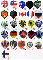 Wholesale HOT PVC Darts Flights Different Style To Choose Leisure Sports Darts Wings Tails